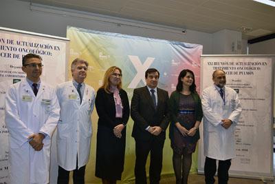José López Miranda, Ángel Salvatierra, María Ángeles Luna, Enrique Aranda, Reyes Bernabé, Antonio Llergo