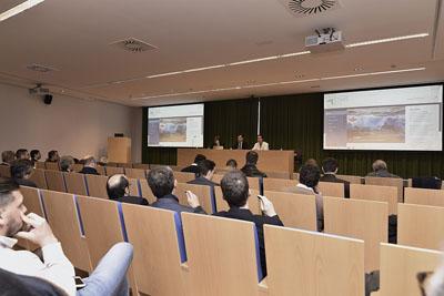 Un momento del evento para dar a conocer el proyecto europeo STARS de reducción de estrés en pacientes