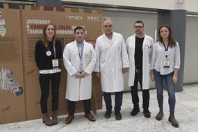 El Hospital se adhiere a una novedosa campaña de concienciación de tumores neuroendocrinos