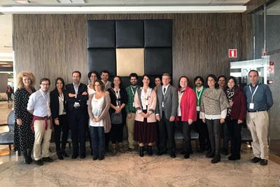 Profesionales del Hospital Reina Sofía participan en la VII reunión FAETT