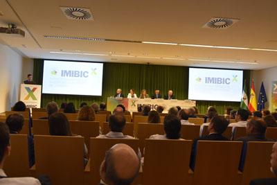 El director Científico del IMIBIC interviene en el acto