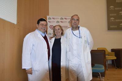 Profesionales del programa de trasplante pulmonar