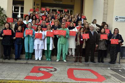 El Hospital Provincial celebra este año su 50 aniversario