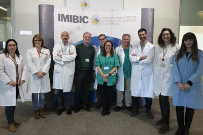 Profesionales del hospital y del imibic investigan sobre biopsia líquida