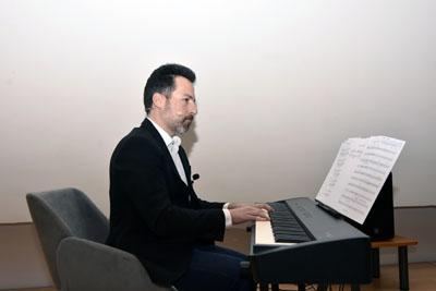 El pianista Alberto de Paz ha protagonizado una brillante actuación