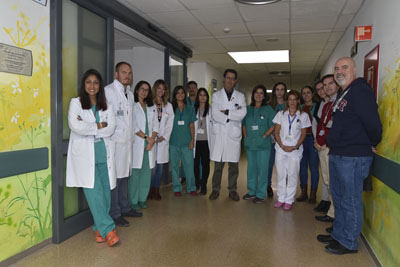 Equipo profesionales que participan en el ensayo clínico