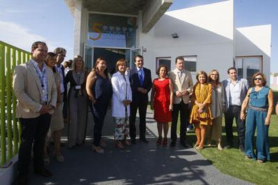 El alcalde de Córrdoba inaugura la Escuela Infantil Hospital Reina Sofía