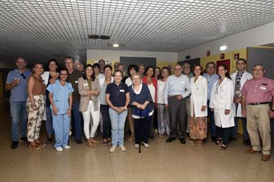 El Hospital Reina Sofía comienza el aula de la escuela de pacientes ostomizados