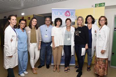 Una veintena de profesionales, pacientes y cuidadores participan