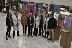 El hospital acoge una exposición de ASAENEC por su 30 aniversario
