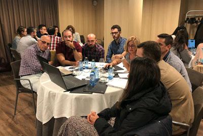 Una treintena de profesionales andaluces participa en el encuentro