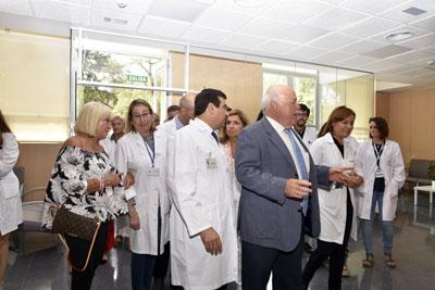 El nuevo hospital de dia casi triplica la superficie del actual