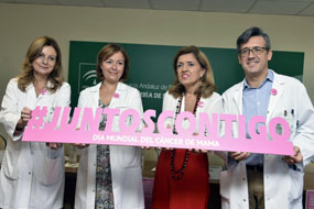 El Hospital organiza las jornadas JuntosContigo sobre cáncer de mama