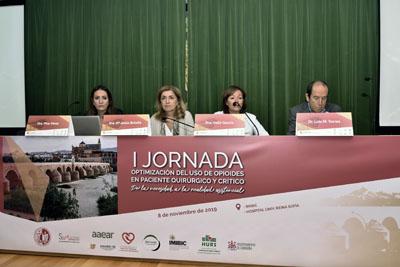 Pilar Pérez Navero, María Jesús Botella, Valle GArcía y Luis Miguel Torres