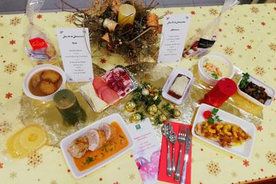 Menús especiales de Nochebuena y Navidad