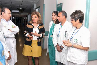 La delegada de Salud y Familias ha visitado este espacio