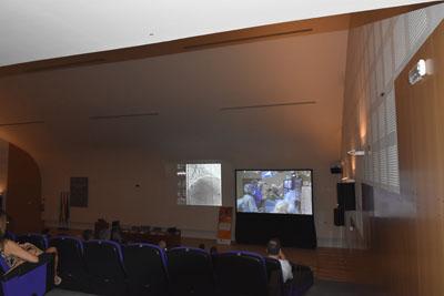 Los asistentes verán en directo cómo se realizan ocho casos complejos en las salas de hemodinámica del hospital