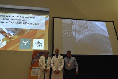 Expertos internacionales profundizarán en el abordaje de las oclusiones coronarias con la realización de 8 casos en directo