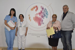 Los pacientes reciben información personalizada en su ingreso
