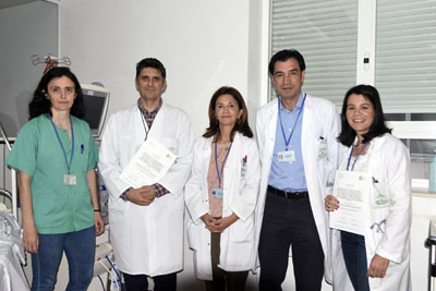 Profesionales de Nefrología del Hospital consiguen dos premios en el último encuentro regional