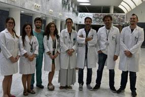 Profesionales del hospital y del imibic