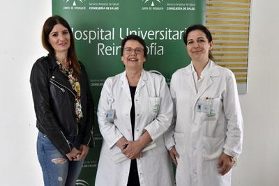 Mónica Medina, Carmen Moreno y Vanesa Sáiz