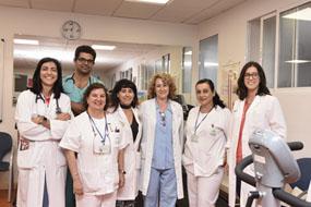 El equipo de profesionales de Rehabilitación Cardíaca