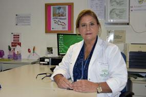 Rosa María Paredes. coordinadora de la Unidad de Anomalías Vasculares