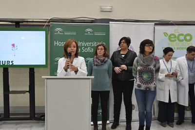 Valle García agradece la colaboración del ayuntamiento, ecomercado y chefs