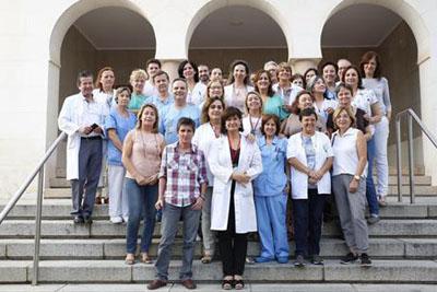 Profesionaes de la Unidad de Salud Mental reciben la certificación de calidad.