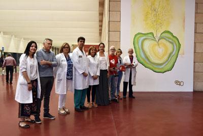 El mural Brote de Vida capta la esencia de la donación de órganos