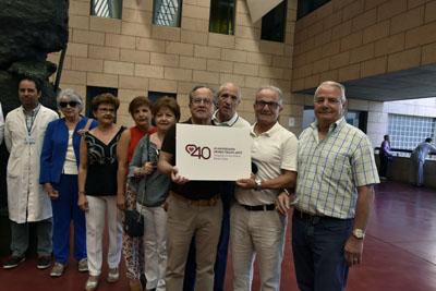 La familia de Miguel Berni recuerda la figura de la pirmera persona trasplantada en el hospital