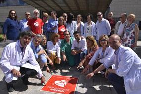 EL Hospital inaugura el Paseo de la Donación