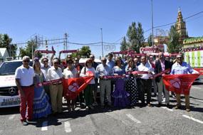 Los taxistas renueva las pegatinas de apoyo a la donación de órganos