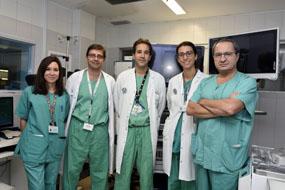 Cirujanos del hospital