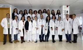 Profesionales que integran la UGC Paliativos