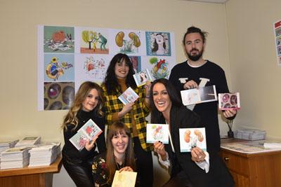 Seis jóvenes ilustradores andaluces han creado las imágenes del calendario