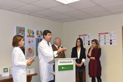 José María Dueñas participa en el acto de presentación del calendario dedicado a la donación