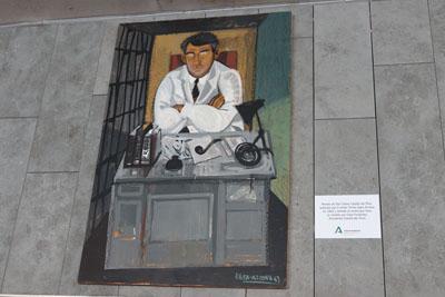El cuadro fue pintado por Tomás Egea en 1962