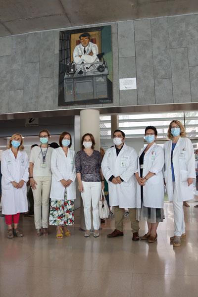 El centro sanitario Carlos Castilla del Pino luce desde hoy un retrato del psiquiatra