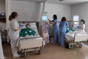 Sala de Diálisis del Hospital Reina Sofía