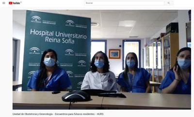 La Unidad de Ginecología atienda las dudas de futuros residentes en el canal de Youtube