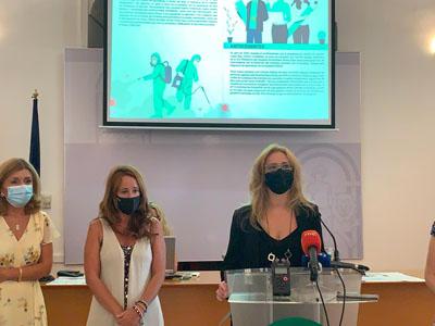 Presentación del cartel y del proyecto 'Héroes con bata'.