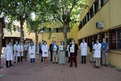 El Hospital Reina Sofia rinde homenaje a la sociedad cordobesa por su apoyo en la pandemia