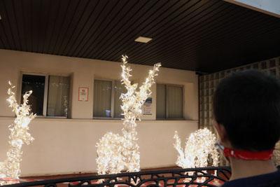 Renos luminosos en el Hospital Materno Infantil