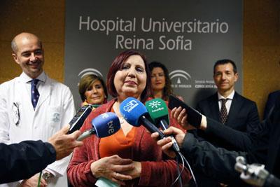 La paciente María Isabel agradece la solidaridad de los donantes