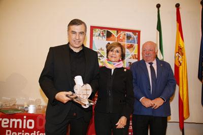 Antonio Rial García recibe accésit en la modalidad de radio