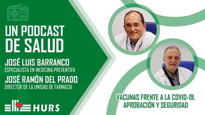 Imagen podcast vacunas frente a la Covid-19. Aprobación y seguridad