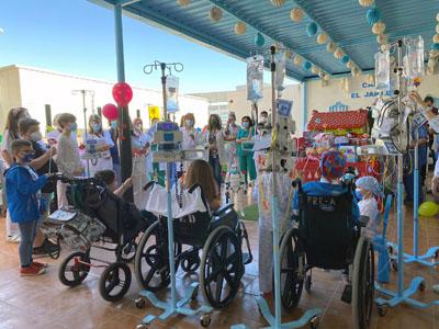 Celebración del Día del Niño Hospitalizado en el HURS