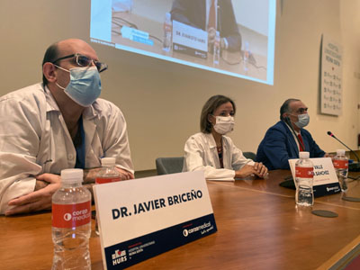 Inauguración de la Jornada de cirugía hepática avanzada